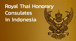 Thai Honorary Consulates in Indonesia